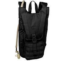 Рюкзак функциональный с питьевой системой от Red Rock Piranha Hydration (Black) 922194 черный