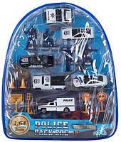 "Набор транспорта ""Полиция"", в рюкзаке 442927"