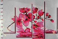 """Схема для вышивки бисером - """"Орхидея"""""""