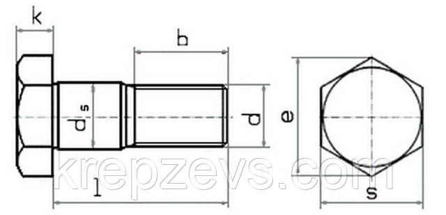 Болт М8 DIN 609  | Фотографии принадлежат предприятию ЗЕВС®