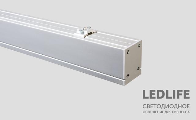 Промышленные линейные LED светильники