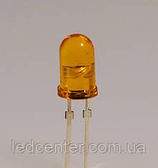 Вивідний світлодіод 5мм (помаранчевий)