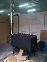Печь отопительная Буллерьян (Булерьян) 40 кВт с варочной поверхностью