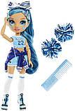 Кукла Рейнбоу Хай Скайлар Брэдшоу Чирлидер - Rainbow High Cheer Skyler Bradshaw Blue Cheerleader 572077, фото 2