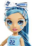 Кукла Рейнбоу Хай Скайлар Брэдшоу Чирлидер - Rainbow High Cheer Skyler Bradshaw Blue Cheerleader 572077, фото 4