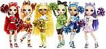 Кукла Рейнбоу Хай Скайлар Брэдшоу Чирлидер - Rainbow High Cheer Skyler Bradshaw Blue Cheerleader 572077, фото 3