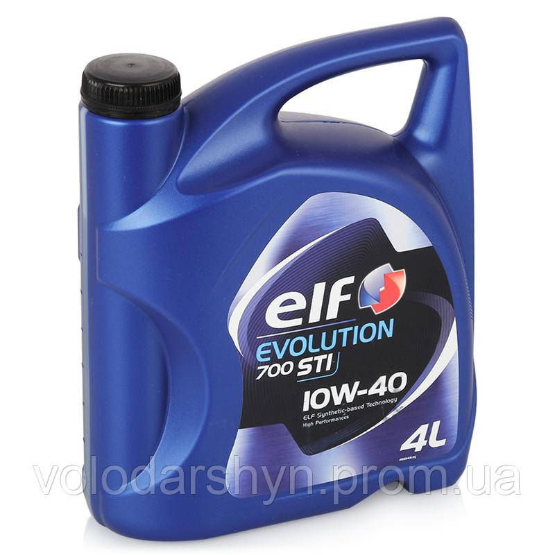 Моторное масло Total ELF Evolution 700 STI 10W-40 5л - Rezina 24 в Львове
