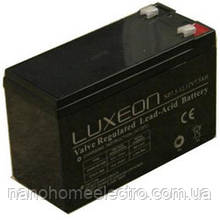 Аккумулятор 12v 7A LUXEON
