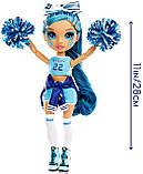 Уценка! Кукла Рейнбоу Хай Скайлер Чирлидер Rainbow High Cheer Skyler Bradshaw Cheerleader 572077 Оригинал, фото 2