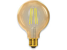 Филаментная светодиодная лампа Luxel 078-HG 8W G95 E27 2500K (078-HG) Gold