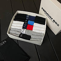 """Набір чоловічої білизни з шкарпетками """"Tommy Hilfiger"""" PREMIUM BOX (копія), 5 трусів+18 пар шкарпеток, бавовна (арт. 450), фото 1"""