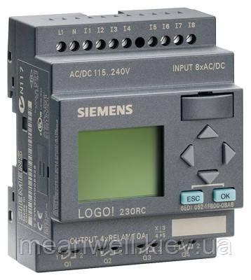 6ED1052-1FB00-0BA6 LOGO! 230RC Логический модуль Siemens LOGO!6