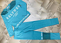 Підлітковий костюм для дівчинки з вставками з сітки Selfwho розмір 11-14 років, колір уточнюйте при замовленні, фото 1