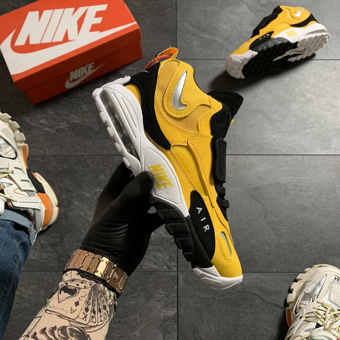 Кроссовки мужские Nike Air Max Speed Turf Yellow Black (Желтый). Мужские кроссовки Найк желтого цвета.