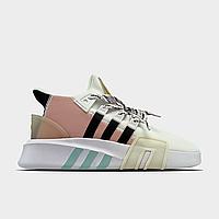 Кроссовки женские Adidas EQT Bask ADV Pink White (Белый). Женские кроссовки Адидас.