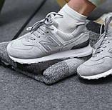 Серые женские кроссовки в стиле New Balance 574 grey, фото 3