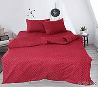 Полуторный комплект постельного белья ренфорс Прочная долговечна и комфортная ткань которая не мнется