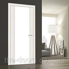 Дверь ОМиС Cortex Gloss ПО триплекс молочный