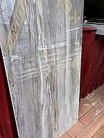 Безшовна Керамогранітна Плитка Mercury Dark, плитка для підлоги / фасаду під африканський сіро-бежевий мармур