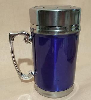 Термос-чашка   380мл.металл, фото 2