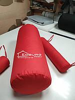 Подушка валик зі знімним чохлом