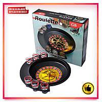 Настольная игра Пьяная рулетка Алко рулетка (6 рюмок) Roulette GB