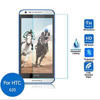 Защитное стекло TG Premium Tempered Glass 0.26mm (2.5D) для HTC Desire 620