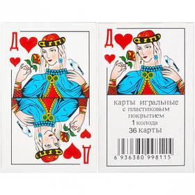 "Карти гральні ""Дама"", 36 карт"