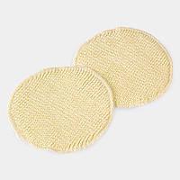 Прокладки для груди из шерсти и шелка , 2 слоя