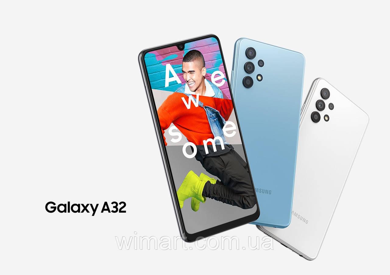 Смартфон Samsung Galaxy A32 4/128Gb Black (SM-A325FZKGSEK).