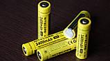 Защищенный литиевый Аккумулятор NITECORE 18650 NL1834 3400mAh Li-Ion 3,7v Protected (+Плата защиты), ORIGINAL, фото 2