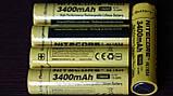 Защищенный литиевый Аккумулятор NITECORE 18650 NL1834 3400mAh Li-Ion 3,7v Protected (+Плата защиты), ORIGINAL, фото 7