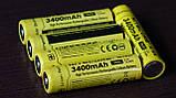 Защищенный литиевый Аккумулятор NITECORE 18650 NL1834 3400mAh Li-Ion 3,7v Protected (+Плата защиты), ORIGINAL, фото 6