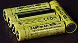 Защищенный литиевый Аккумулятор NITECORE 18650 NL1834 3400mAh Li-Ion 3,7v Protected (+Плата защиты), ORIGINAL, фото 5