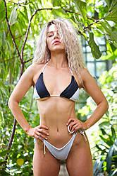 Купальник пляжный черно-белый NV Bora Bora