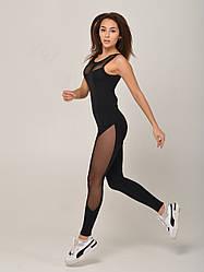 Комбінезон жіночий спортивний NV Chartreux чорний