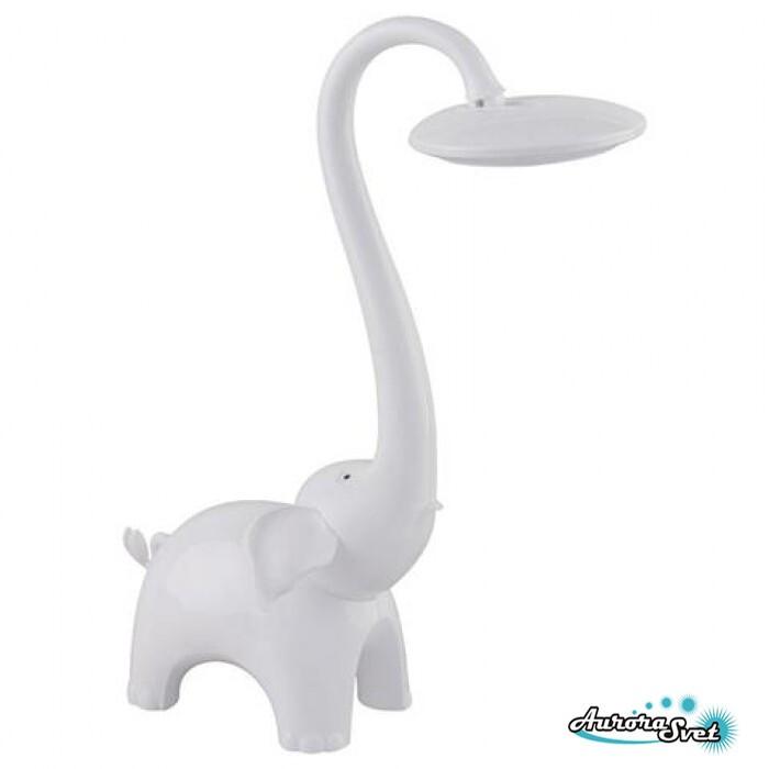 Настільний дитячий світильник BIMBO. білий LED світильник. Світлодіодний світильник настільний.