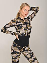 Спортивний комбінезон для фітнесу NV California Camouflage