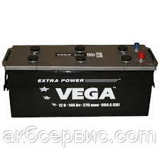 Акумулятор автомобільний Vega 6СТ-140 Аз