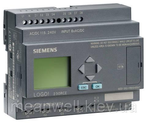 6ED1052-1FB00-0BA7 LOGO! 230RCE Логический модуль Siemens LOGO!7
