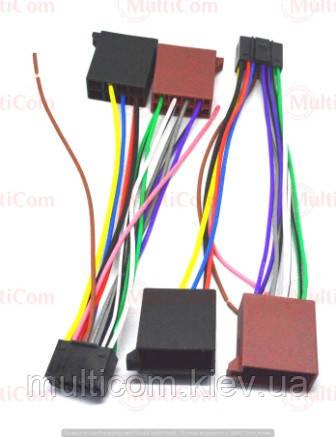 01-17-007. Перехідник автомагнітоли JVC - ISO (459006), з кабелем 20см