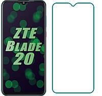 Захисне скло ZTE Blade 20 Smart (Прозоре 2.5 D 9H)
