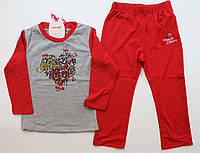 Пижама для девочки байка 4-8 лет