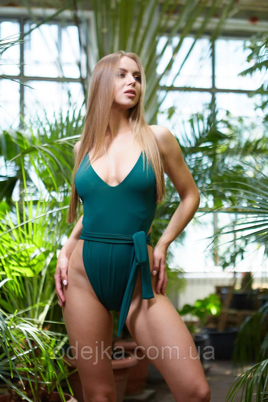 Купальник NV Los Roques, one size, зеленый
