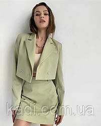 Юбочный костюм с жакетом / арт.598