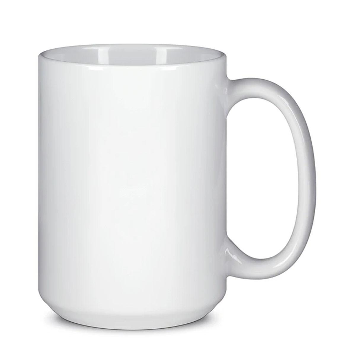 Чашка для сублимации белая большая (BIG) 425 мл