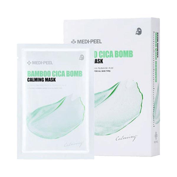 Заспокійлива тканинна маска з центелою і бамбуком MEDI-PEEL Bamboo Cica Bomb Calming Mask 25ml