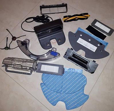 Запчасти Ecovacs Ozmo Deebot 900/901/920/930/950 HEPA фильтр щетка пылесборник бак тряпка швабра кронштейн док