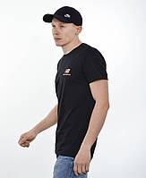 Мужская футболка New Balance (реплика) Черный
