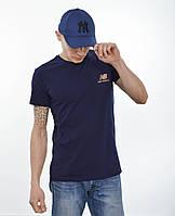 Мужская футболка New Balance (реплика) Синий